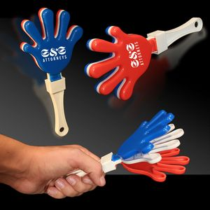 Custom Printed Hand Clapper Noisemakers