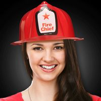 Plastic Fireman Hat