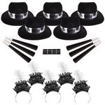 Custom Silver Midnight New Year's Party Kit for 50