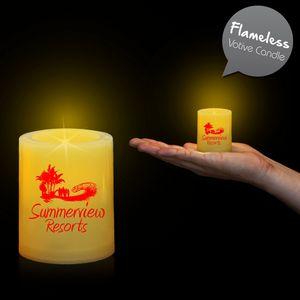 Custom Printed Votive LED Candles