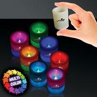 """2 1/2"""" 7 Color LED Votive Candle"""