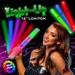 Custom Multi Color LED Light Up Batons / Lumitons