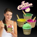 Custom Ice Cream Bowl and Spoon Set