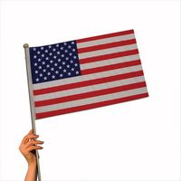 "Cloth American Flag (12""x18"")"