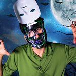 Custom LED Double Face Mask