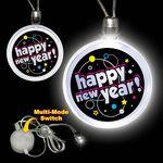 Custom Happy New Year LED Necklace