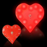 Flashing Deluxe Red Heart Blinky