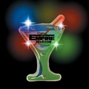 Flashing Martini Glass Blinky