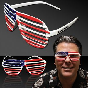 d7235782ee0c Patriotic Slotted Eyeglasses - GLS083 - IdeaStage Promotional Products