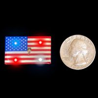 Flag LED Flashing Blinkies