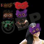 Custom Feather Masks