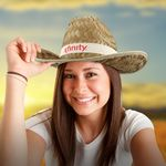 Custom Adult Cowboy Hat - Imprinted Bands Available!