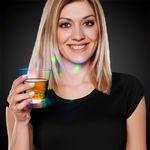 Custom 8 oz Light Up LED Disco Ball Rocks Glass