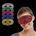 Custom Assorted Color Glitter Masks