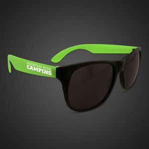 29a3831aa08 Neon Look Sunglasses w  Green Arms - GLS090 - IdeaStage Promotional Products