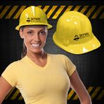 Custom Yellow Novelty Plastic Construction Hat