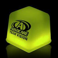 "1"" Yellow Glow Ice Cube"