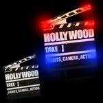 Custom Hollywood Clapboard LED Blinkies