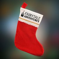 Felt Christmas Stocking - Imprinted