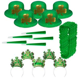 Custom Imprinted St. Patrick's Day Party Packs