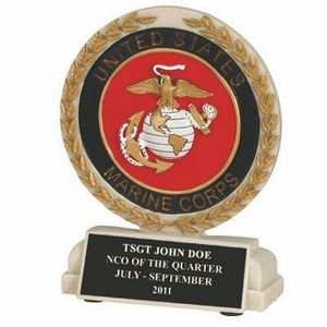 Custom Imprinted Marines Trophies