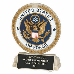 Custom Engraved Air Force Trophies