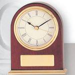 Custom Piano Finish Rosewood Clock