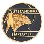 Custom Outstanding Employee Pin