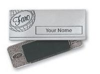 Custom Name Badges - Pewter