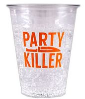 "16 Oz. Clear Plastic ""Flexible"" Clear Cup"