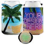 Custom Crazy Frio Tropical Beverage Holder (4CP/ Dye Sublimation)