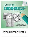 Custom LARGE PRINT Sudoku Puzzle Book - Volume 2