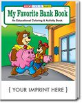 Custom My Favorite Bank Book Coloring Book