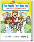 Custom Your Hospital Cares About You Coloring Book
