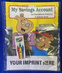 Custom My Savings Account Coloring Book Fun Pack