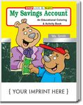 Custom My Savings Account Coloring Book