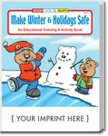 Custom Make Winter & Holidays Safe Coloring Book