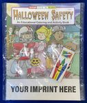 Halloween Safety Coloring Book Fun Pack