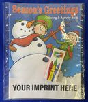 Season's Greetings Coloring Book Fun Pack