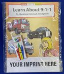 Custom Learn About 9-1-1 Coloring Book Fun Pack