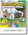 Custom Electric & Utility Safety Coloring Book