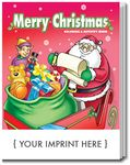 Custom Merry Christmas Coloring & Activity Book