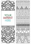Coloring Bookmark - Patterns