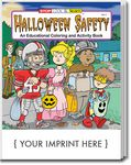 Custom Halloween Safety Coloring Book