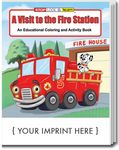 Custom A Visit to the Fire Station Coloring Book