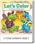 Custom Let's Color Coloring & Activity Book