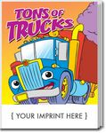 Custom Tons of Trucks Coloring Book