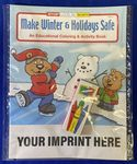 Custom Make Winter & Holidays Safe Coloring Book Fun Pack