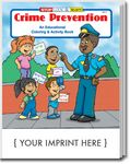 Custom Crime Prevention Coloring Book