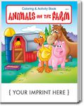 Custom Animals on the Farm Coloring & Activity Book